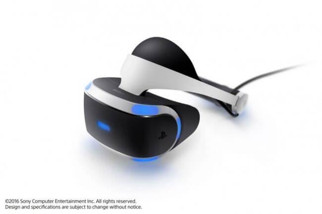Шлем виртуальной реальности Sony PlayStation VR выходит в октябре 1